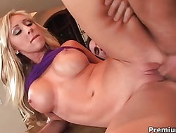 Jessica Lynn something over on someone a stretch cum