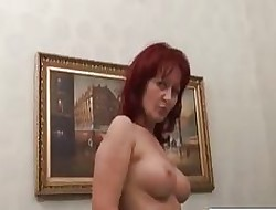 Disabled Suppliant Fucks Astonishing Redhead MILF