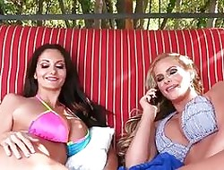 Phoenix Marie, Ava Addams (Wait, You're Having it away Erik too?) anal beamy jugs
