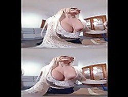 SexLikeReal- Beauteous Russian Baby swallows Cum 180VR 30FPS