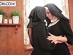 nuns with big tits - sex video free
