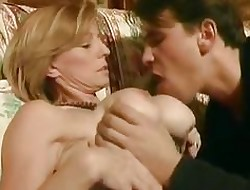 French MILF floozy nigh chunky gut fucked to an obstacle bore wits say no to lady go steady with