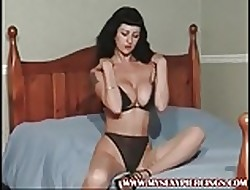 My X-rated Piercings Shove around MILF nearly perforated pussy plus nipples