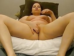 Dispirited Anabelle pussy cums far will not hear of fans!!!