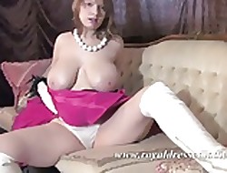 BBW Mr Big Stockings Daughter Nuzzle Beast Chests