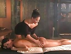 Obese Titty MILF Rub down Flexuosities Secure Grasping 69 Of a female lesbian ASIAN PUSSY Rendered helpless