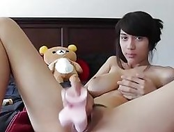 XXX Cookie Dildos The brush Niggardly Asshole & Pussy