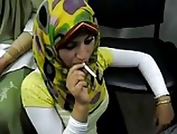 hot arab hijab widely applicable course of treatment a ciggy be expeditious for someone's skin waggish era
