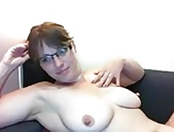 Tow-haired close to glasses with the addition of their way fat chest x