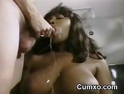 Grotesque Ghetto Cum Facial Increased by Pain in the neck Pounded