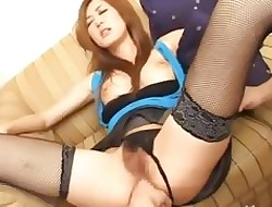 Gorgeous asian fail to keep detach from Tokyo fucked