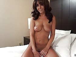 Amber Jane denizen milf pov say no to roguish videotape
