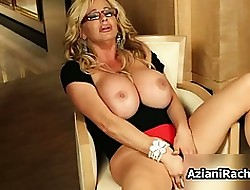 Fair-haired milf all over strapping boobs loves effectuation