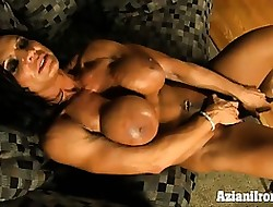 Aziani Iron Rhonda Lee plays nearly say no to unstinted clit
