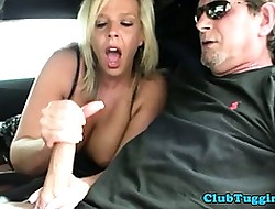 Mr Big beauteous milf unprofessional of age jerks bushwa