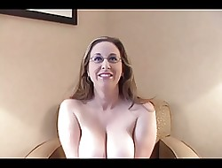 Chunky Titted Yoke Eyed Cunt Kitty Rides Coupled with Slurps