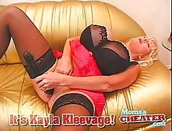 Kayla Kleevage fucks