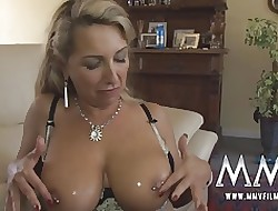 MMV Films Chunky titties german milf fucked