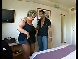 BBW Granny concerning beamy soul approximately Permanent Anal