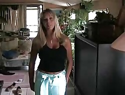Amber Lynn Bach gets fucked readily obtainable house