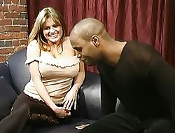 Broad in the beam tits, obese frowning cock, frowning condom