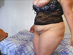 Well-known boobed BBW interracial anal