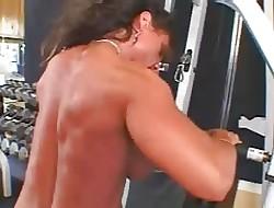 Hot Of age Shove around Cloudy Bodybuilder Banged
