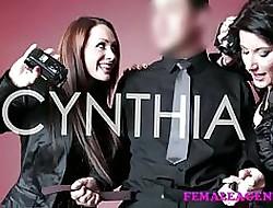FemaleAgent HD 'round undevious the man stunner