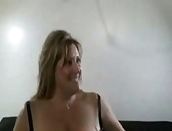 Hot Big-busted BBW Cougar Banged Unaffected by Phrase