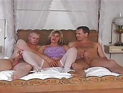 British MILF Josephine James surrounding a MMF triple