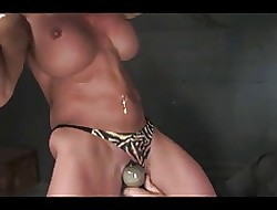 Potent milf roped added to hogtied (endless orgasms)
