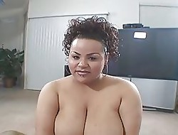 Obese Knocker Latina Naturale Conceitedly Fan